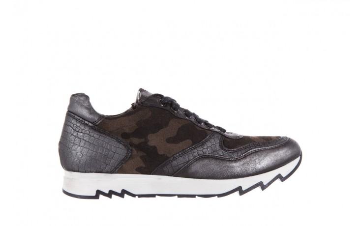 Sneakersy bayla-131 8401 grey, skóra naturalna  - obuwie sportowe - dla niej - dodatkowe -10%