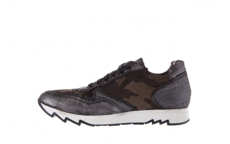 Sneakersy bayla-131 8401 grey, skóra naturalna  - obuwie sportowe - dla niej - dodatkowe -10% 2