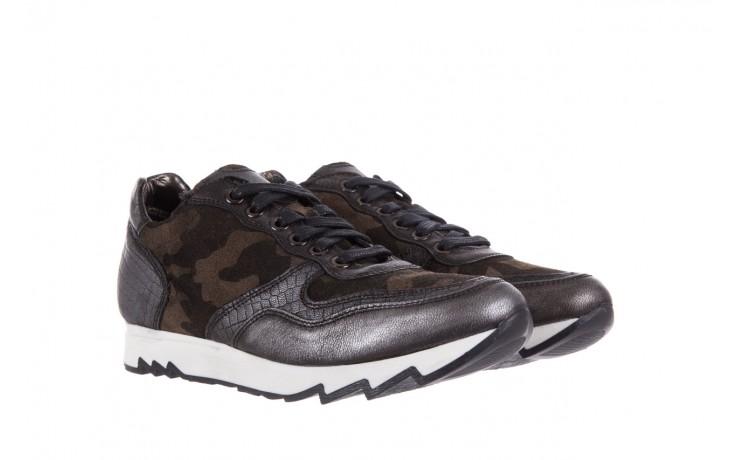 Sneakersy bayla-131 8401 grey, skóra naturalna  - obuwie sportowe - dla niej - dodatkowe -10% 1