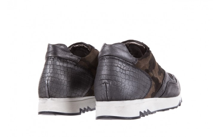 Sneakersy bayla-131 8401 grey, skóra naturalna  - obuwie sportowe - dla niej - dodatkowe -10% 3