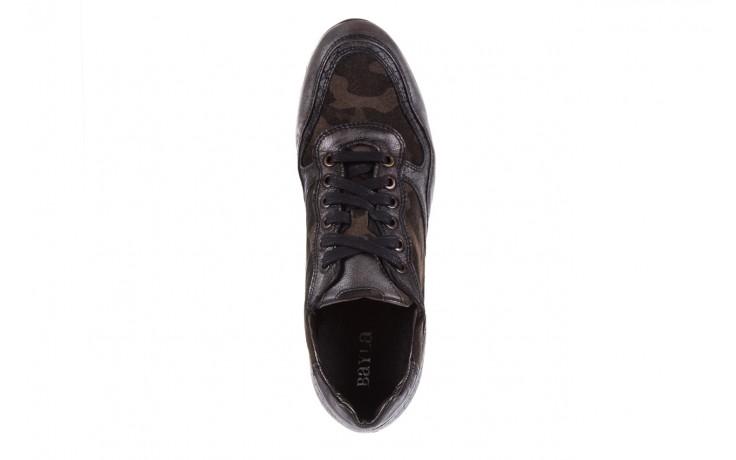 Sneakersy bayla-131 8401 grey, skóra naturalna  - obuwie sportowe - dla niej - dodatkowe -10% 4