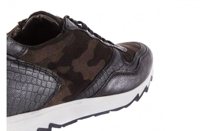 Sneakersy bayla-131 8401 grey, skóra naturalna  - obuwie sportowe - dla niej - dodatkowe -10% 5