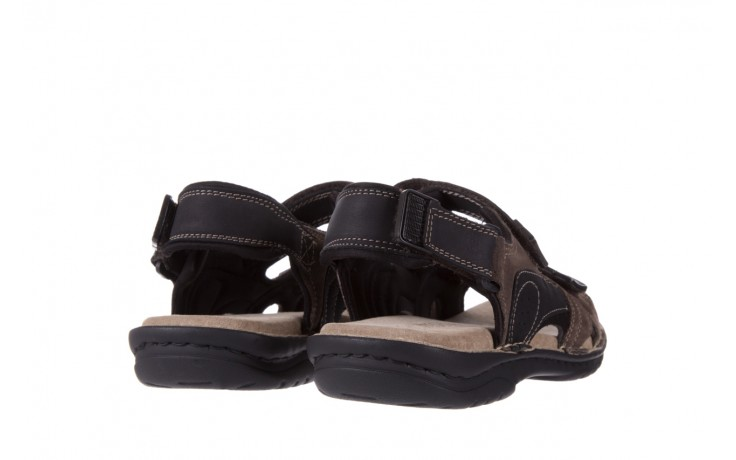 Sandały bayla-133 9520 nabuc nero, brąz, skóra naturalna  - bayla - nasze marki 3