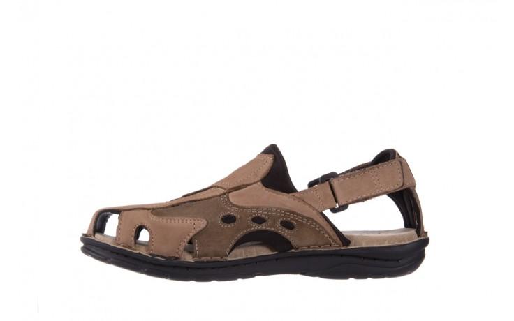 Sandały bayla-133 9522 nabuc tortora, brąz, skóra naturalna 2