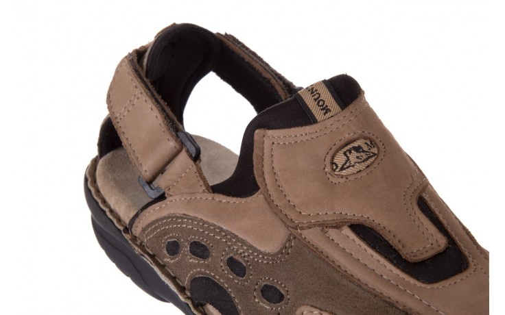 Sandały bayla-133 9522 nabuc tortora, brąz, skóra naturalna  - sandały - dla niego - sale 5