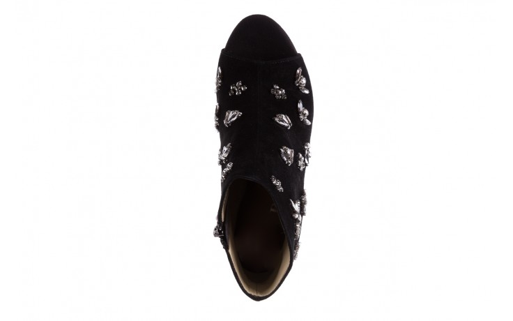 Botki bayla-144 pj010h-105-1a black, czarny, skóra naturalna  - na szpilce - botki - buty damskie - kobieta 4