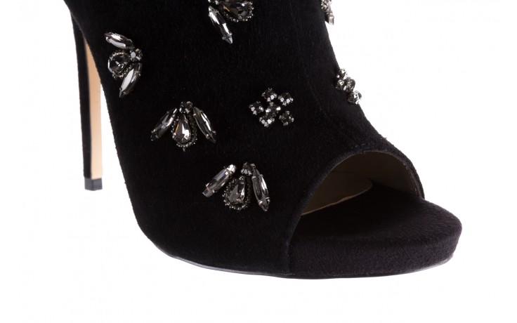 Botki bayla-144 pj010h-105-1a black, czarny, skóra naturalna  - na szpilce - botki - buty damskie - kobieta 5