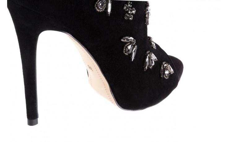 Botki bayla-144 pj010h-105-1a black, czarny, skóra naturalna  - na szpilce - botki - buty damskie - kobieta 6