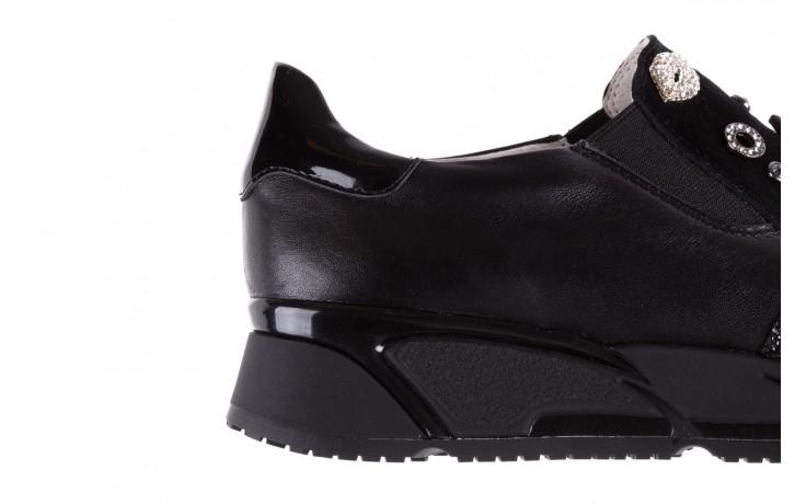 Sneakersy bayla-144 pj722l-16-1a black, czarny, skóra naturalna  - bayla - nasze marki 7