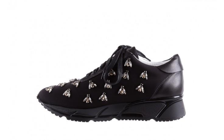 Sneakersy bayla-144 pj722l pj718l-9-1n black, czarny, skóra naturalna  - bayla - nasze marki 2