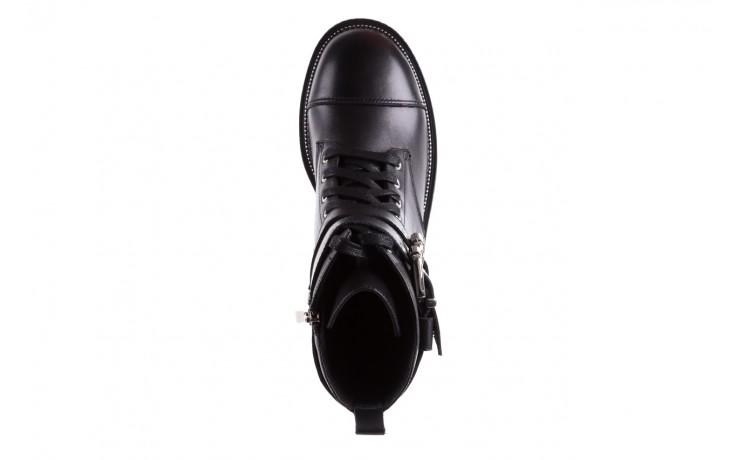 Trzewiki bayla-144 pj759h-2-1n black, czarny, skóra naturalna  - bayla - nasze marki 4