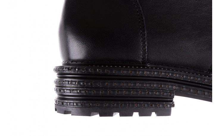 Trzewiki bayla-144 pj759h-2-1n black, czarny, skóra naturalna  - bayla - nasze marki 8