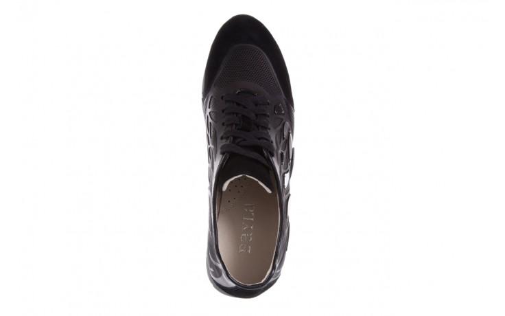Sneakersy bayla-144 pj926l-2-1a black, skóra naturalna  - bayla - nasze marki 4