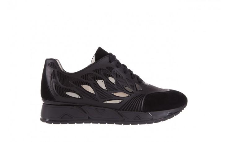Sneakersy bayla-144 pj926l-2-1a black, skóra naturalna  - bayla - nasze marki