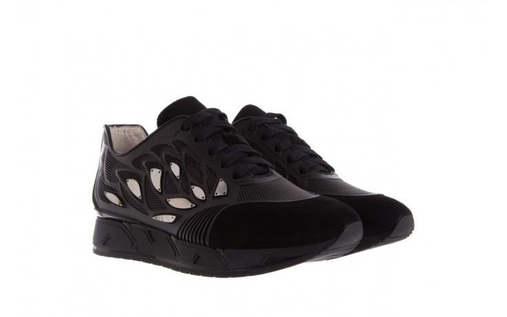 Sneakersy bayla-144 pj926l-2-1a black, skóra naturalna  - bayla - nasze marki 1