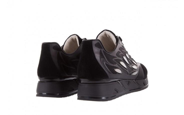 Sneakersy bayla-144 pj926l-2-1a black, skóra naturalna  - bayla - nasze marki 3