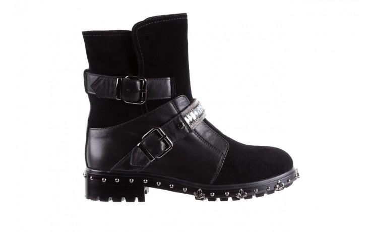 Trzewiki bayla-144 9301 czarne, skóra naturalna - trzewiki - buty damskie - kobieta