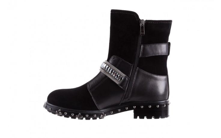 Trzewiki bayla-144 9301 czarne, skóra naturalna - trzewiki - buty damskie - kobieta 3