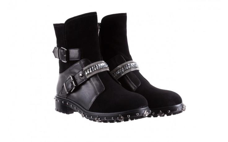 Trzewiki bayla-144 9301 czarne, skóra naturalna - trzewiki - buty damskie - kobieta 1