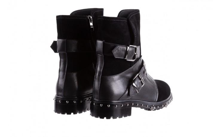 Trzewiki bayla-144 9301 czarne, skóra naturalna - trzewiki - buty damskie - kobieta 4