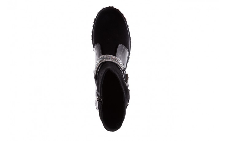 Trzewiki bayla-144 9301 czarne, skóra naturalna - trzewiki - buty damskie - kobieta 9