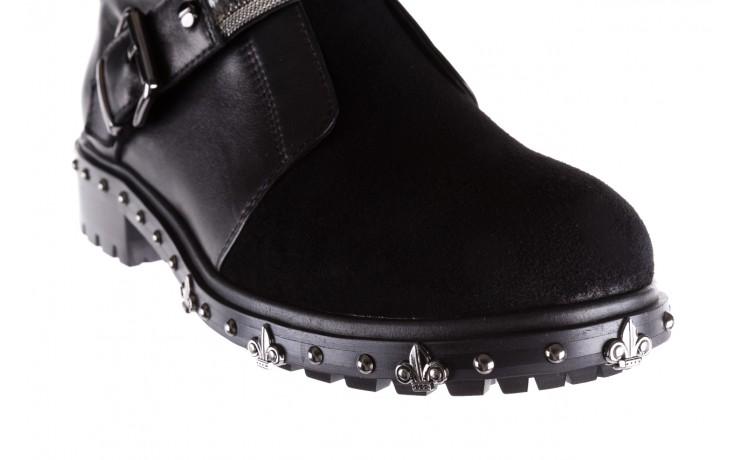 Trzewiki bayla-144 9301 czarne, skóra naturalna - trzewiki - buty damskie - kobieta 5