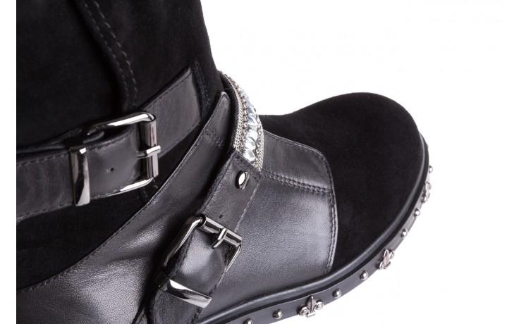 Trzewiki bayla-144 9301 czarne, skóra naturalna - trzewiki - buty damskie - kobieta 7