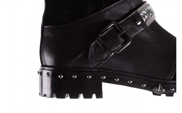 Trzewiki bayla-144 9301 czarne, skóra naturalna - trzewiki - buty damskie - kobieta 6