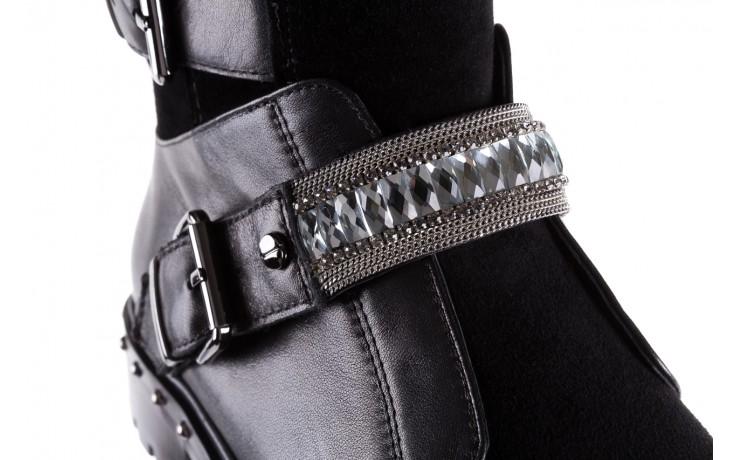 Trzewiki bayla-144 9301 czarne, skóra naturalna - trzewiki - buty damskie - kobieta 8