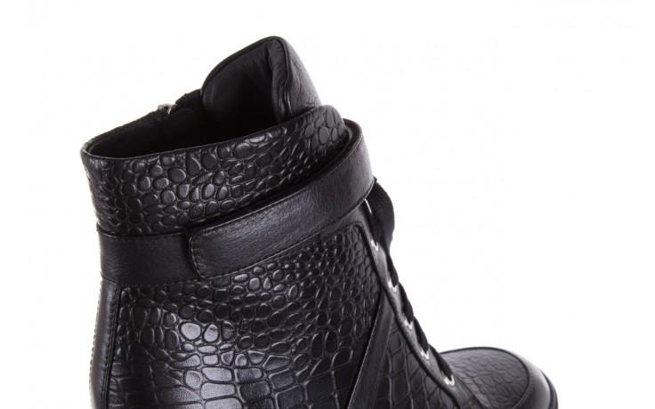 Sneakersy bayla-144 ps508h-16b-1n black, czarny, skóra naturalna  - bayla - nasze marki 6
