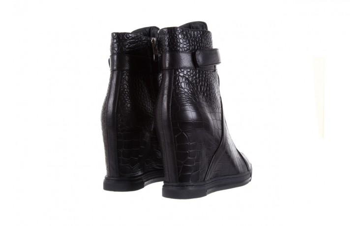 Sneakersy bayla-144 ps508h-16b-1n black, czarny, skóra naturalna  - bayla - nasze marki 3