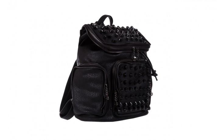 Plecak bayla-150 plecak s16-277 black, czarny, skóra ekologiczna  - akcesoria - kobieta 1