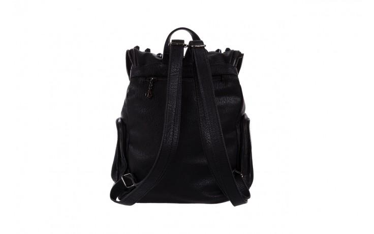 Plecak bayla-150 plecak s16-277 black, czarny, skóra ekologiczna  - akcesoria - kobieta 2