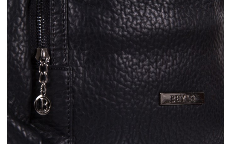 Plecak bayla-150 plecak s16-278 black, czarny, skóra ekologiczna  - bayla - nasze marki 3