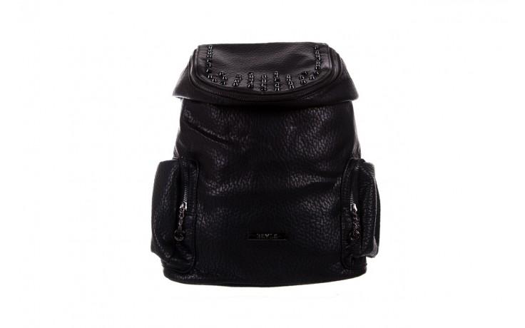 Plecak bayla-150 plecak s16-278 black, czarny, skóra ekologiczna  - akcesoria - kobieta