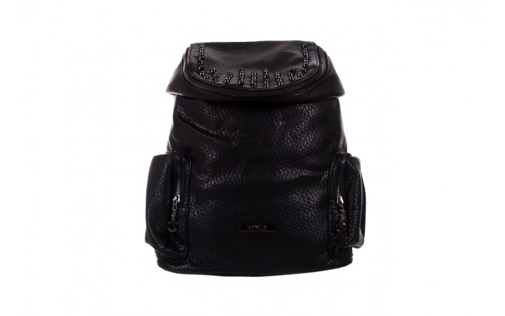 Plecak bayla-150 plecak s16-278 black, czarny, skóra ekologiczna  - bayla - nasze marki