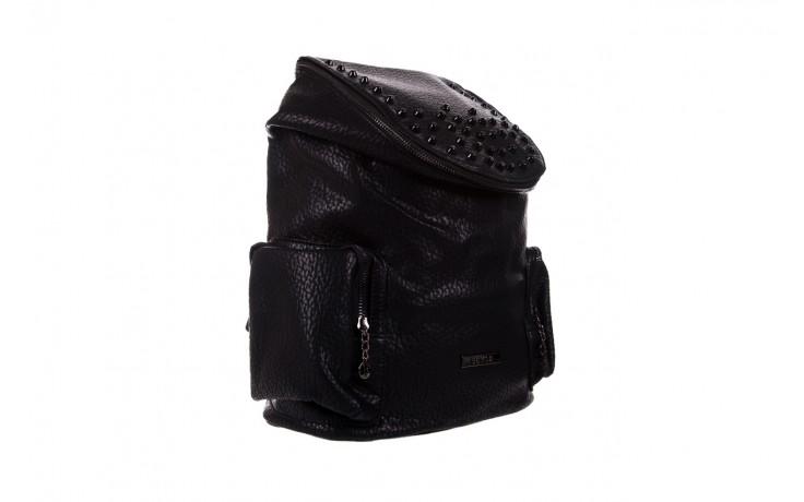 Plecak bayla-150 plecak s16-278 black, czarny, skóra ekologiczna  - akcesoria - kobieta 1