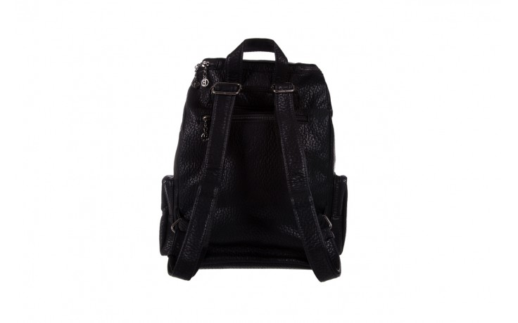 Plecak bayla-150 plecak s16-278 black, czarny, skóra ekologiczna  - akcesoria - kobieta 2
