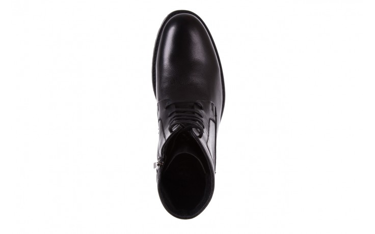 Trzewiki bayla-151 d01a017-52b black, czarny, skóra naturalna  - bayla exclusive - trendy - mężczyzna 4