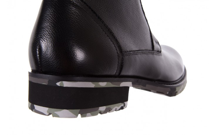 Trzewiki bayla-151 d01a017-52b black, czarny, skóra naturalna  - bayla exclusive - trendy - mężczyzna 5