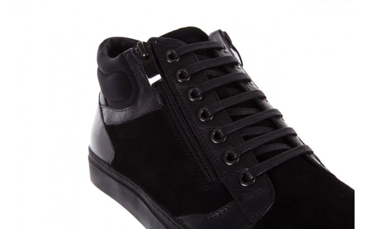 Trampki bayla-151 d151429-50a black, czarny, skóra naturalna  - bayla exclusive - trendy - mężczyzna 5