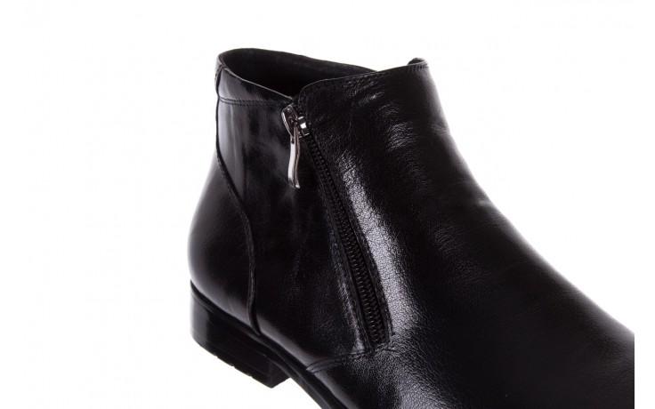 Trzewiki bayla-151 t33yd10-3a black, czarny, skóra naturalna  - wizytowe - trzewiki - buty męskie - mężczyzna 6