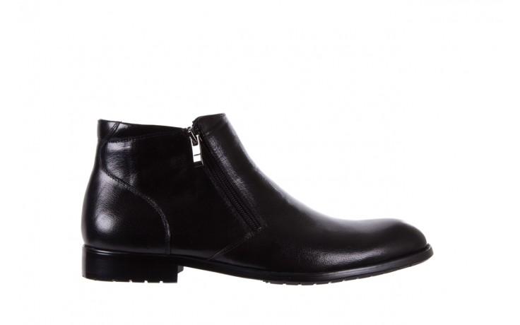 Trzewiki bayla-151 t33yd10-3a black, czarny, skóra naturalna  - wizytowe - trzewiki - buty męskie - mężczyzna