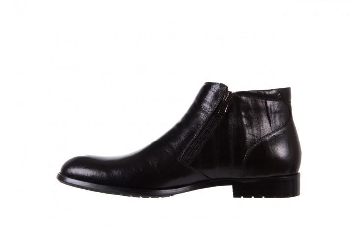 Trzewiki bayla-151 t33yd10-3a black, czarny, skóra naturalna  - wizytowe - trzewiki - buty męskie - mężczyzna 2