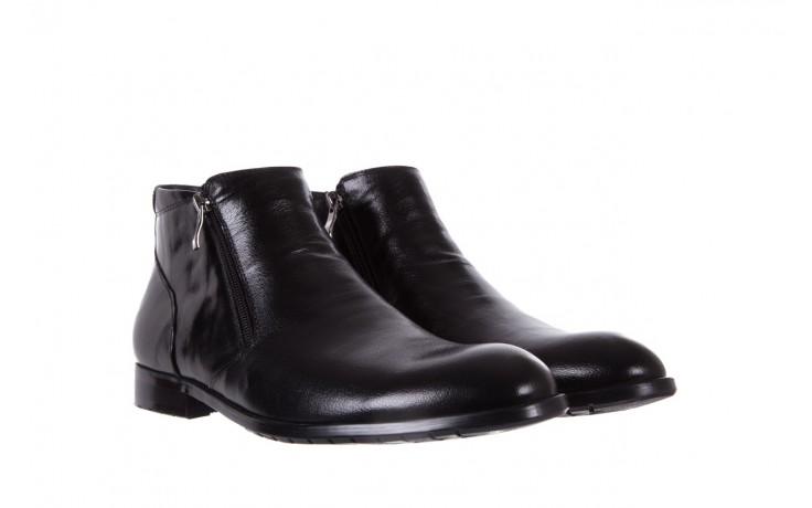 Trzewiki bayla-151 t33yd10-3a black, czarny, skóra naturalna  - wizytowe - trzewiki - buty męskie - mężczyzna 1