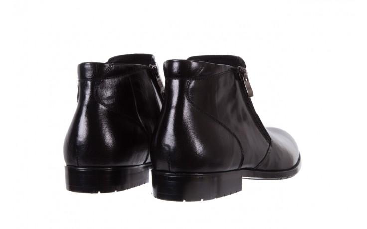 Trzewiki bayla-151 t33yd10-3a black, czarny, skóra naturalna  - wizytowe - trzewiki - buty męskie - mężczyzna 3