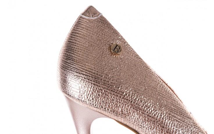 Czółenka bayla-156 2636 różowe złoto, skóra naturalna  - bayla - nasze marki 6