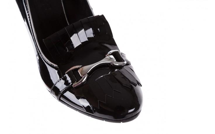 Czółenka bayla-156 2704 09 czarny lakier, skóra naturalna lakierowana  - bayla - nasze marki 5