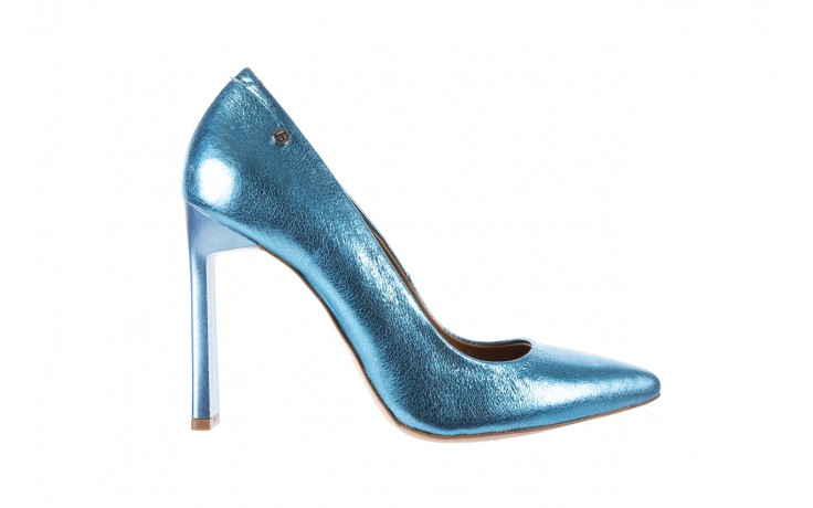 Bayla-156 2730 niebieski metallic, skóra naturalna  - bayla - nasze marki