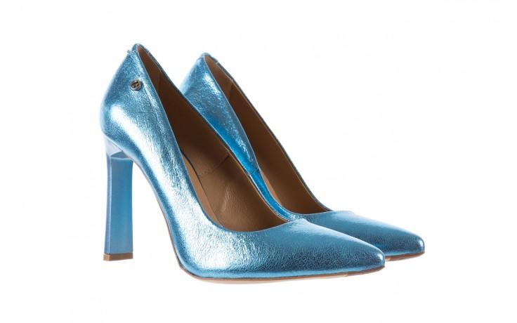 Bayla-156 2730 niebieski metallic, skóra naturalna  - bayla - nasze marki 1